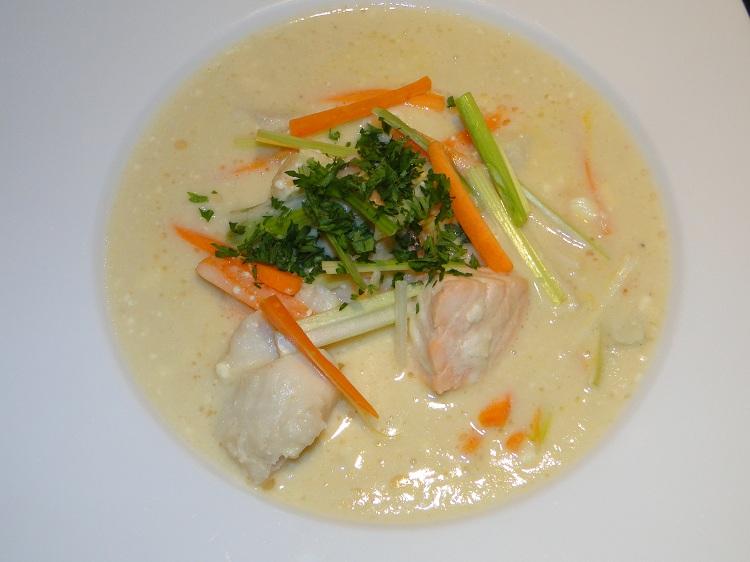 Svanhilds hjemmelagde fiskesuppe