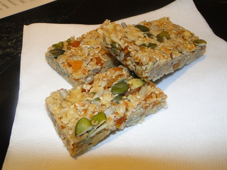 Homemade energy-bar