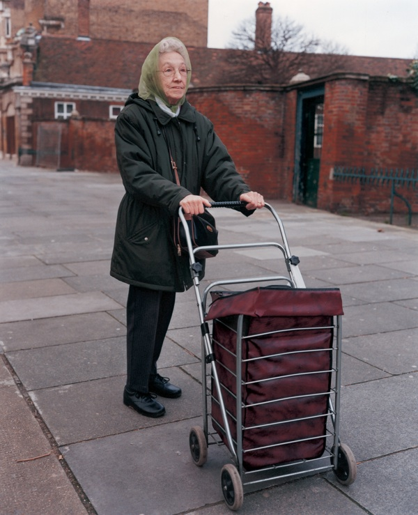 Image result for old lady with a trolley