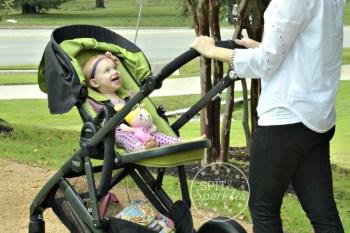Britax B Ready, stroller review, Britax, Spit and Sparkles, Austin Moms Blog, Steffany Duke