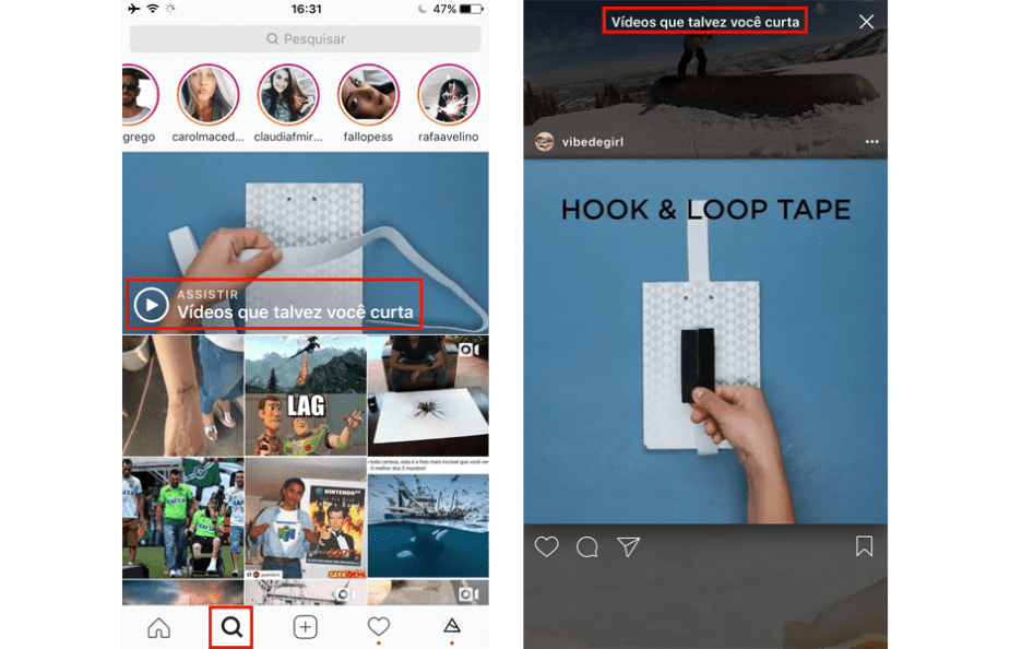 Use as histórias do Instagram para ganhar seguidores