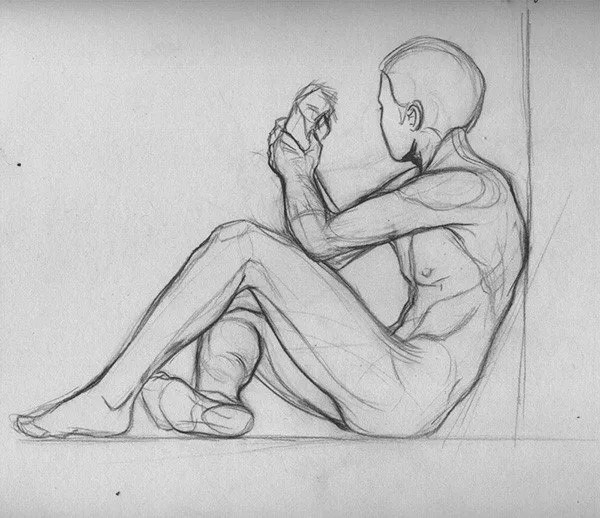 Male Figure Drawing with Sandra Conrad