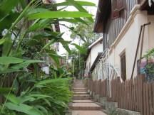 Alley in Luang Prabang.