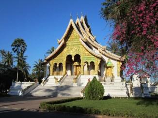 The wat where the Prabang Buddha is kept.