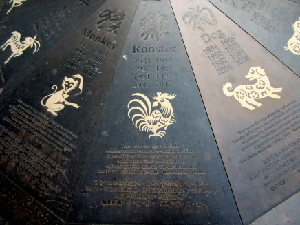 Zodiac rooster.