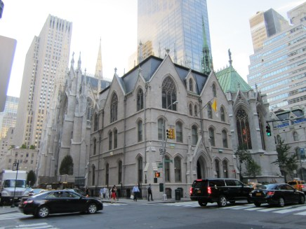 This church is even more Gothic than that other one!