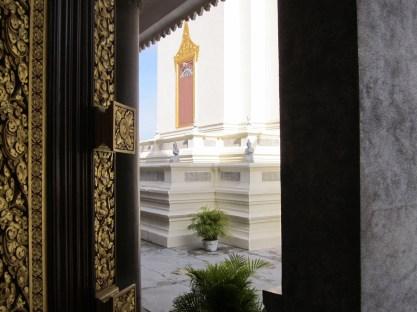 Buddhist library.