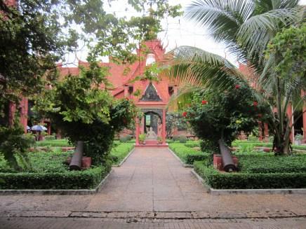 National Museum courtyard.