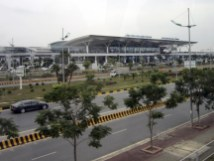 Nội Bài International Airport in Hanoi