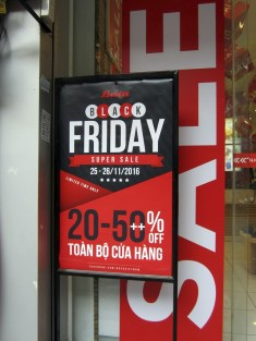 Apparently communists now celebrate the day after Thanksgiving with retail sales, too.
