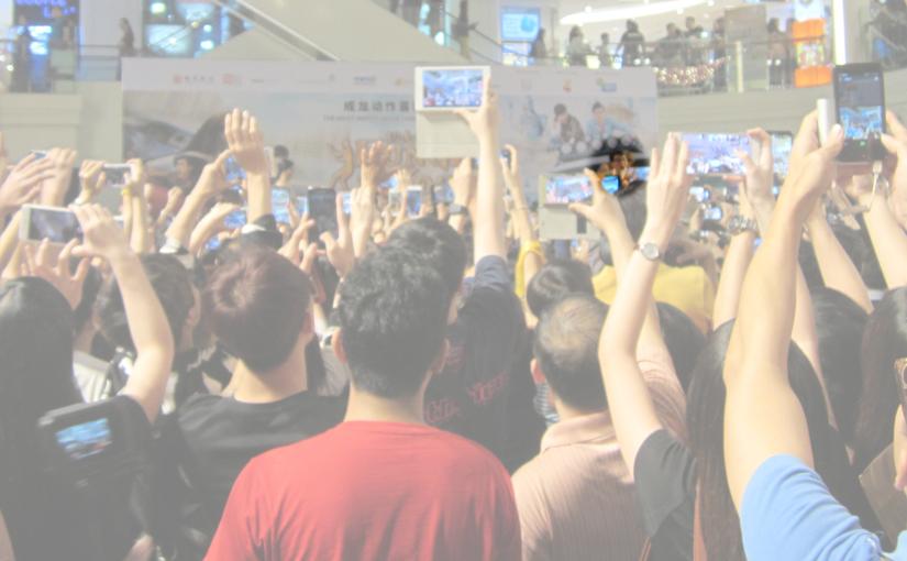 Jackie Chan comes to Plaza Singapura to launch Kung Fu Yoga