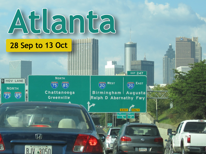 Atlanta (Sep/Oct 2017)