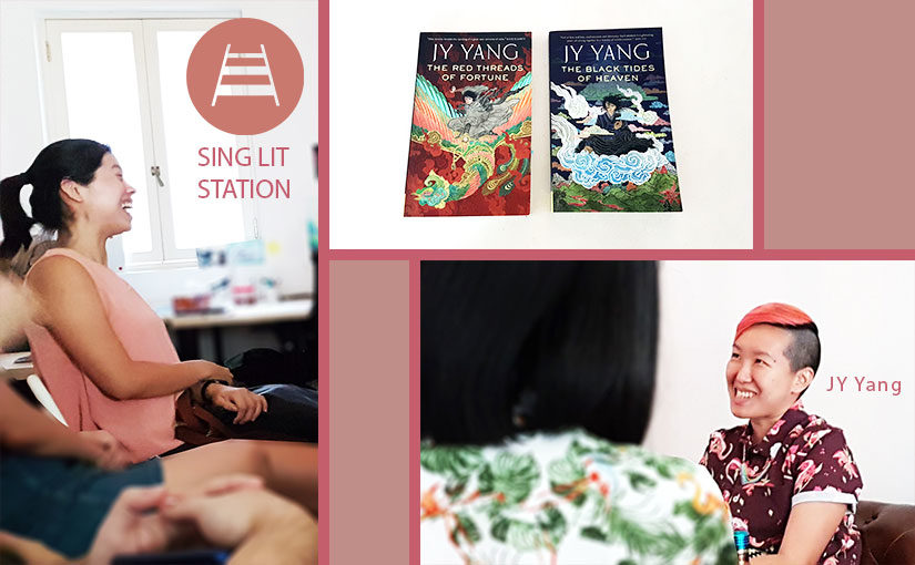New Terrain / New Works featuring JY Yang at Sing Lit Station