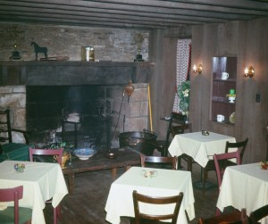 Side dining room at Lavender Hall