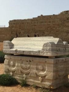 Caesarea sarcophagus