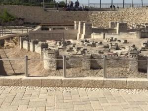 Scale model of Jerusalem