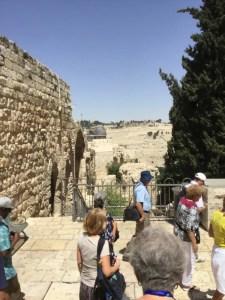 Headung toward the Western Wall