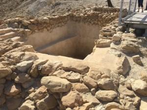 Qumran reservoir