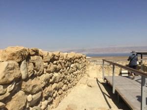 Qumran wall remains