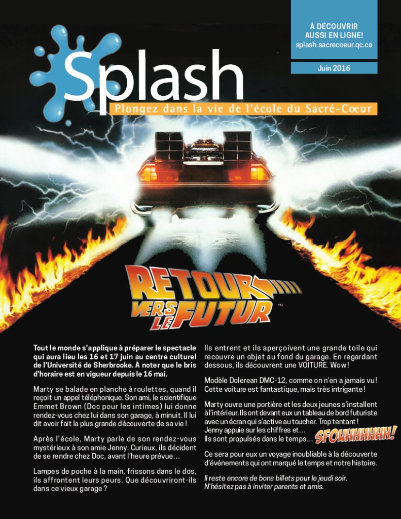 Splash - Juin 2016