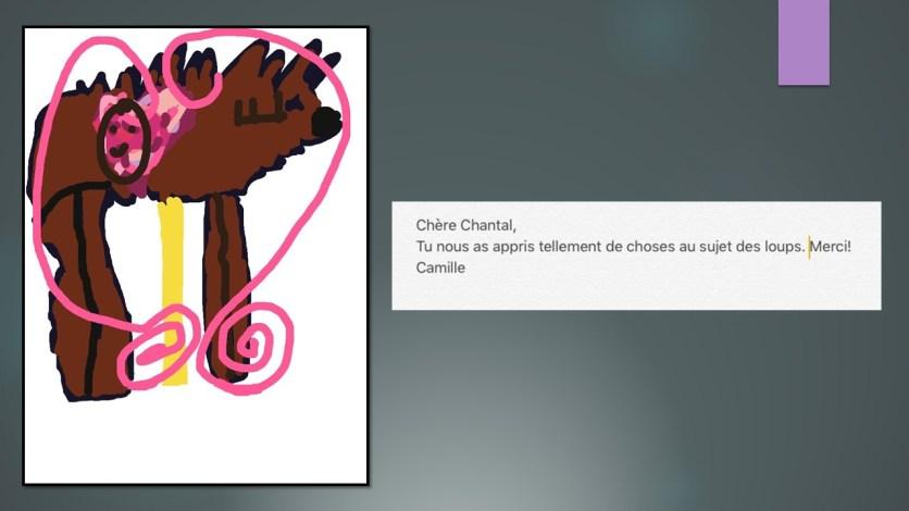 création C pour madame Chantal Rhéaume_