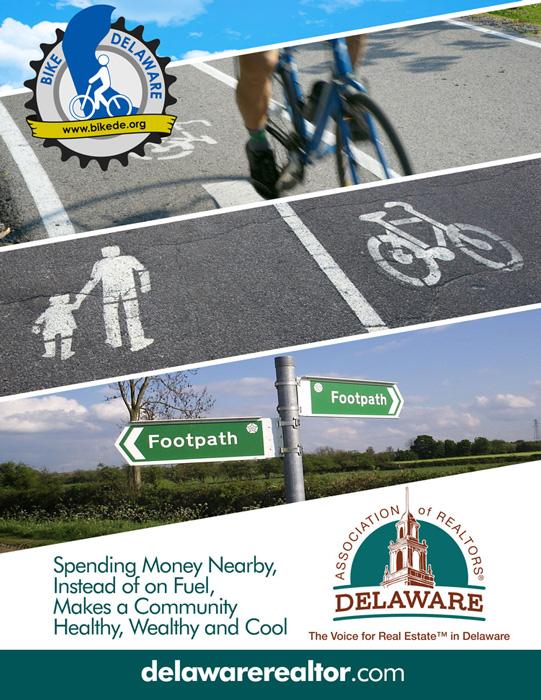 Bike Delaware Delaware Association of Realtors Ad
