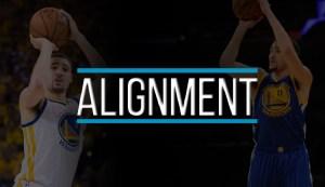 klay thompson shooting form alignment