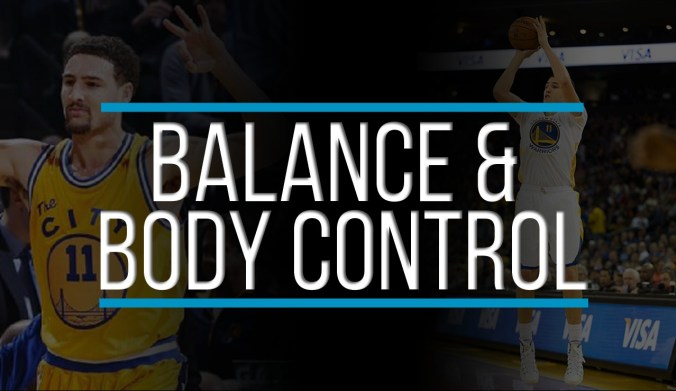 klay thompson shooting balance