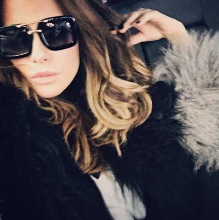 89640c1f17 Kate Beckinsale wearing The Karl by Privé Revaux sunglasses (Photo Credit   Kate Beckinsale Instagram)
