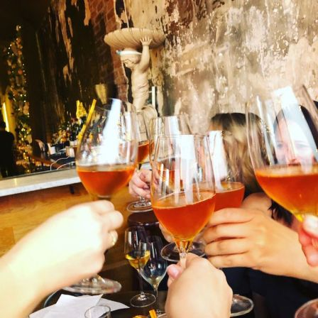 : Orange Wine Cheers