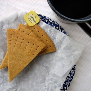 Project NYT: Brown sugar shortbread