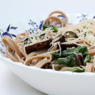 Don't tease the underdog: Fettuccine with eggplant