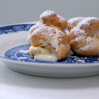 Rising against the elements: Homemade cream puffs