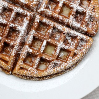 The Breakfast Club: Pumpkin waffles