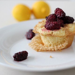 Recipes for naptime: Lemon vanilla bean muffins