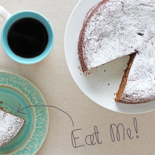 Voice for the misunderstood: Prune coffee cake