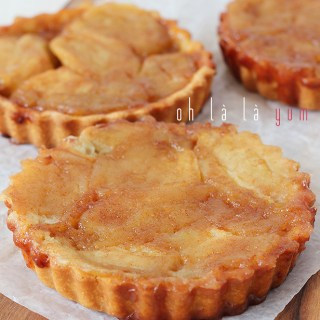 French apple tartlettes? Bon appétit!