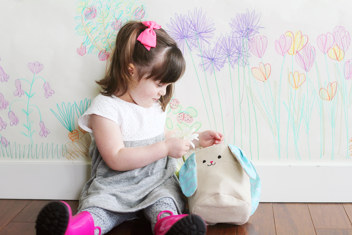 Colorful Indoor Garden Craft for Kids profile