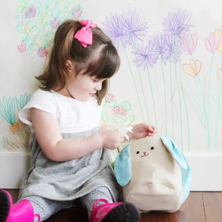 Colorful Indoor Garden Craft for Kids