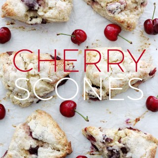 Holiday Baking: Make-Ahead Cherry Scones