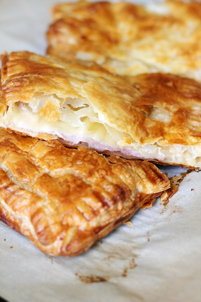 Ham and Gruyere Puff Pastry