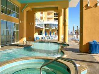 West Tower Covered Pool and Jacuzzi