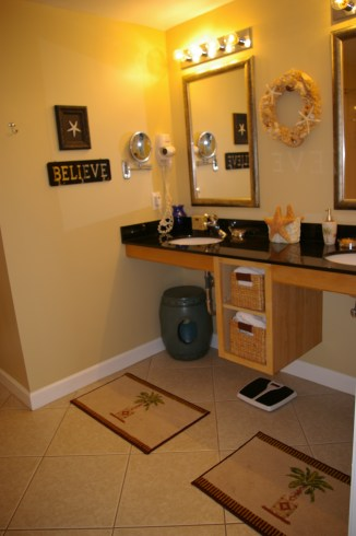 Master bathroom - his and hers sinks