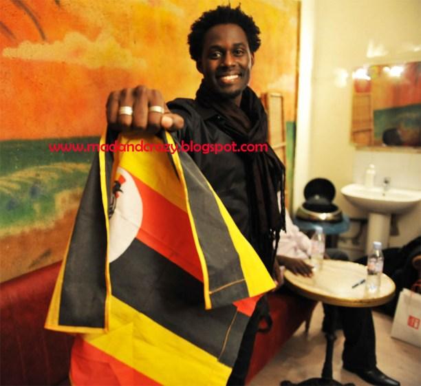 Maurice Kirya flag