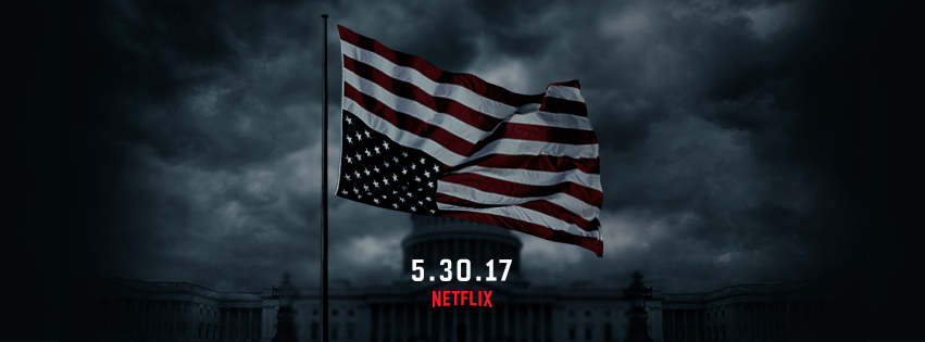 Netflix Drops HOUSE OF CARDS Announcement Teaser On Inauguration Day