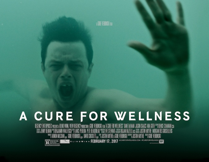 new banner for a cure for wellness