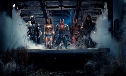 Awesome New JUSTICE LEAGUE Photo Features Cyborg's Sonic Cannon