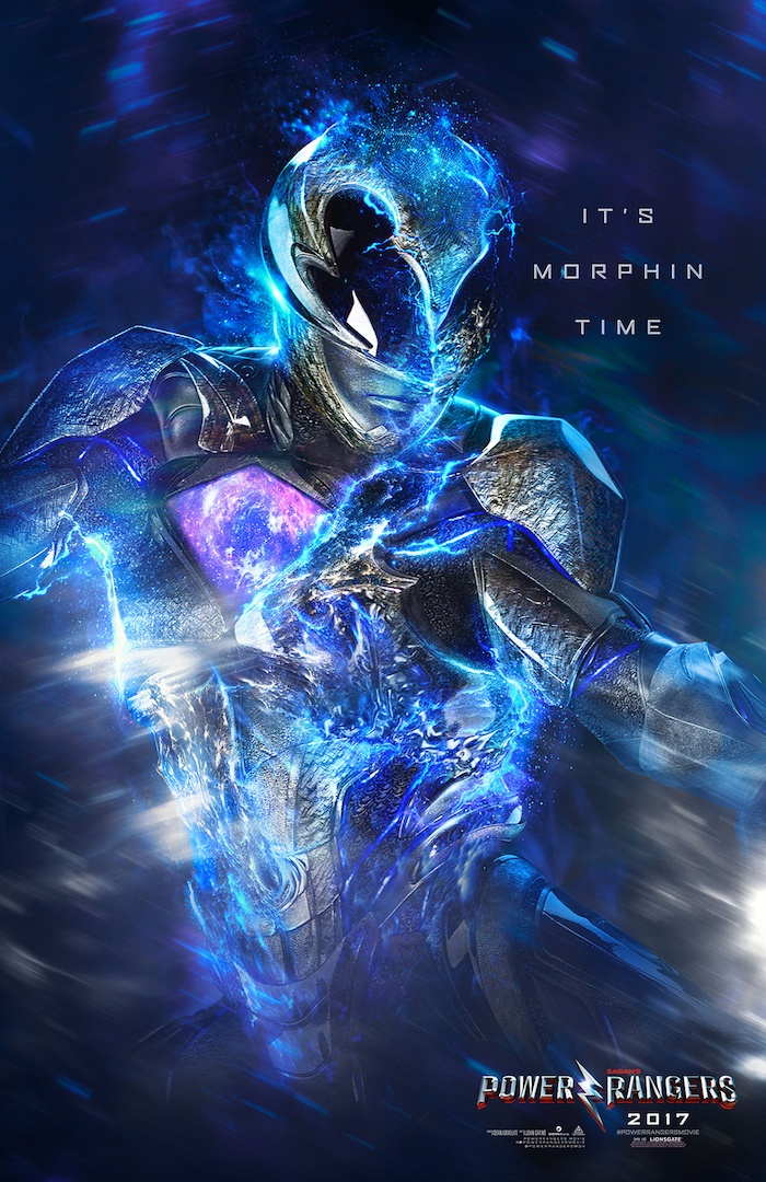 Character Poster Power Rangers 1