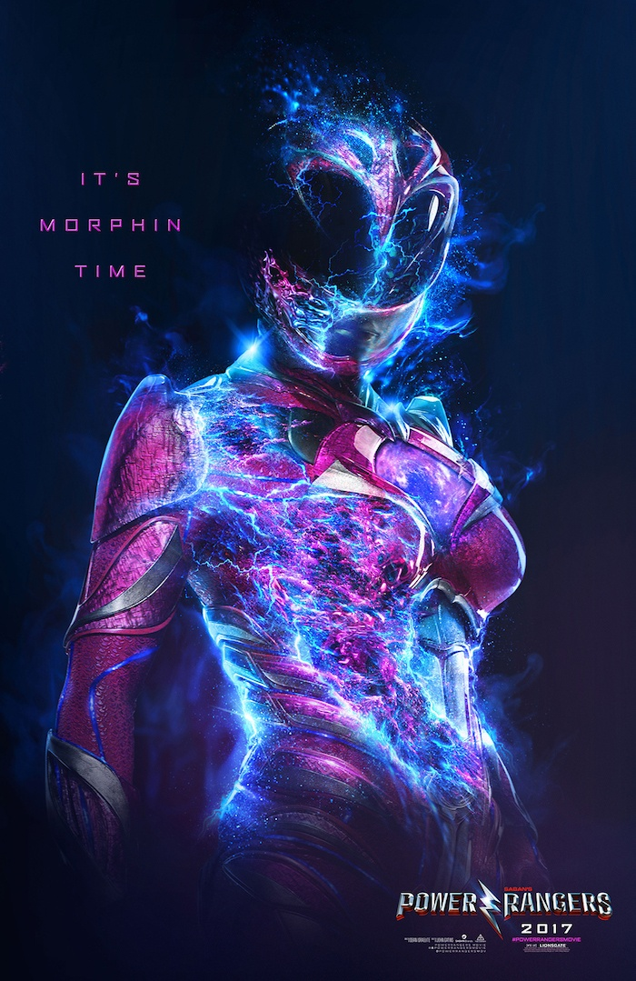 Character Poster Power Rangers 4
