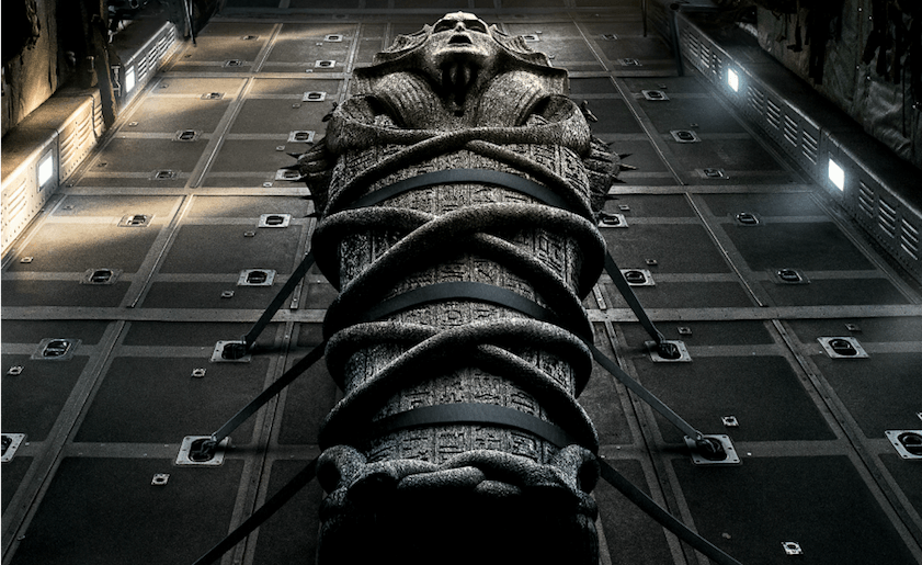 New Poster From THE MUMMY Features A Double-Pupiled Sofia Boutella